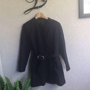 Zara coachmans wool coat